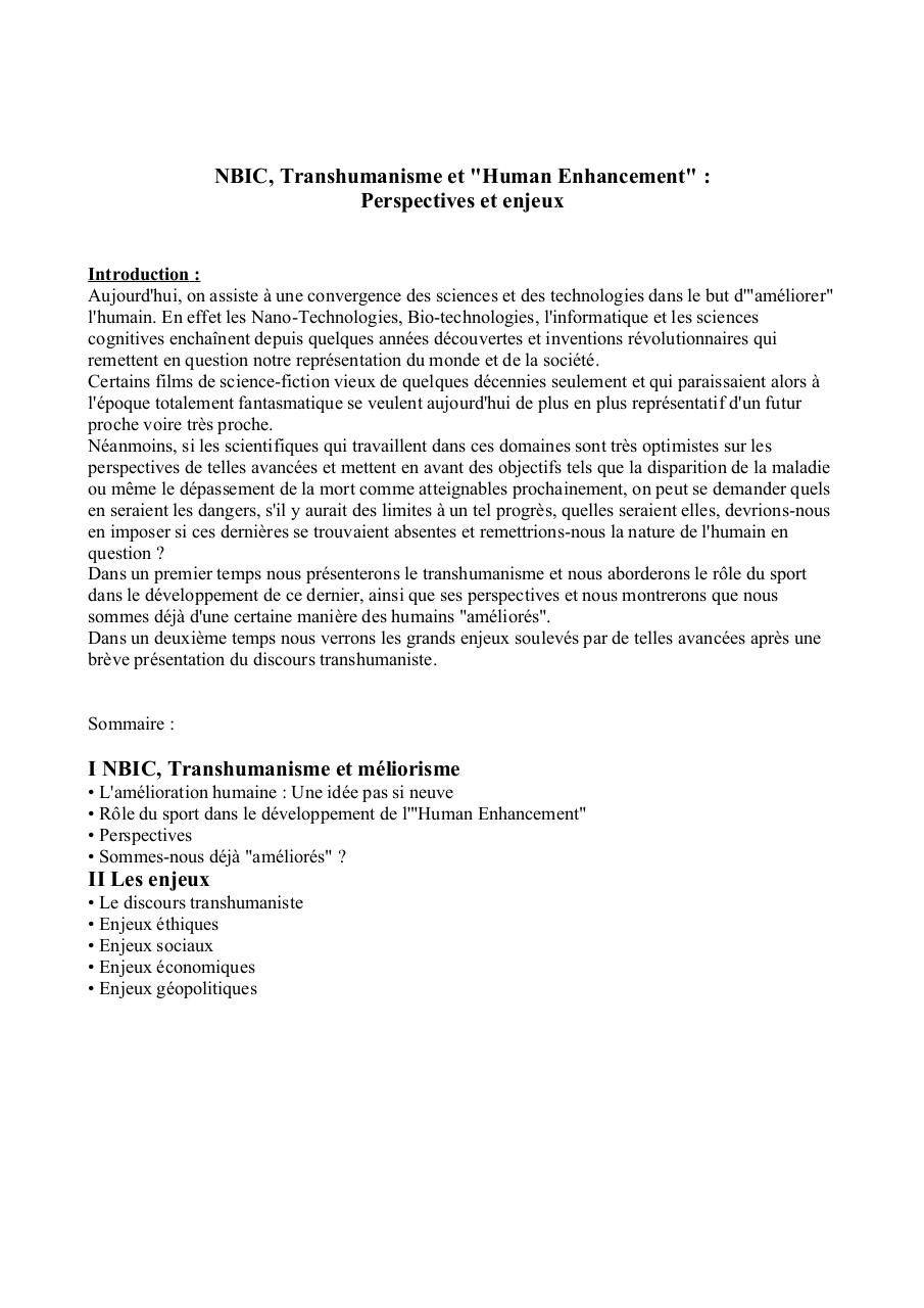 Synthèse documentaire NBIC.pdf - page 1/5