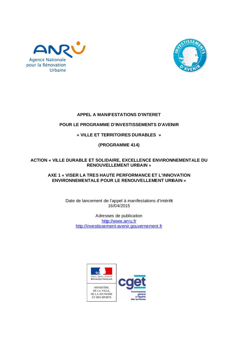 Appel_Manisfestations_Interet_Cahier_Des_Charges_16-04-2015.pdf - page 1/50
