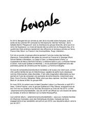 bengale bio