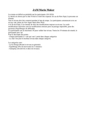 Fichier PDF regle jam