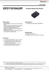 Fichier PDF dust sensor by optical sensing system gp2y1010au0f