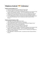Fichier PDF iphone ou ipad vers ordinateur