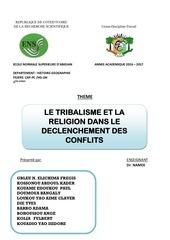 Fichier PDF le tribalisme la religion et conflits