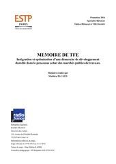 memoire achats publics mop responsables