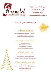 menu des fetes de fin d annee 2016
