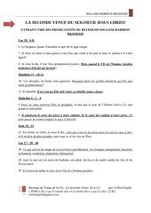 Fichier PDF seconde venue du seigneur jesus christ