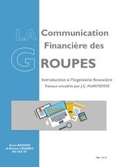 communication financie re des groupes