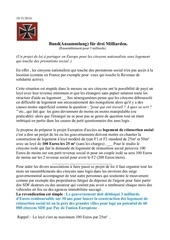 projet immobilier des sdf europeen
