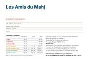 bulletin adhesion ami du mahj 2015