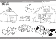 animals coloring pages 1