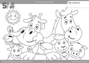 animals coloring pages 6