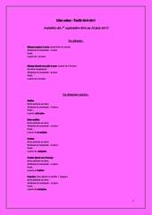 lilys cakes tarifs 2016 2017