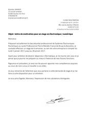 lettre de motivation 3