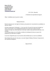 Fichier PDF lettre de motivation vendeur pap