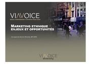 viavoicemarketing ethnique enjeux et opportunites 2011 2012