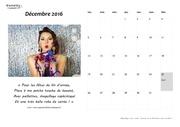 calendrier decembre 2016 fashion