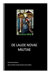 de laude novae militiae