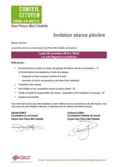 invitation cc gare peloux mail citadelle 28 novembre 2016