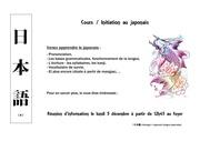 Fichier PDF cours de japonais