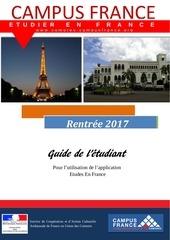 guide de l etudiant 2017