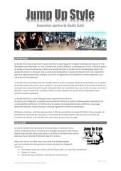 presentation du club jump up style 031116