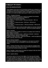 Fichier PDF 1 annee