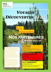 invitation voyages decouvertes afdi 2017