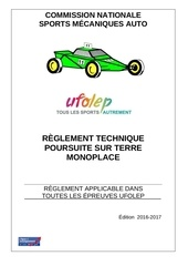 reglement mono 2016 2017