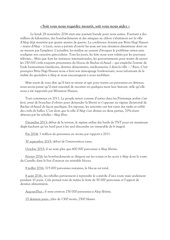 lettre ouverte alep