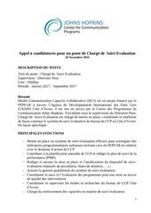 Fichier PDF avis de recrutement charge de suivi et evaluation
