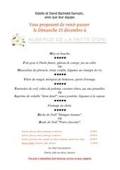 decembre menu noel 2016