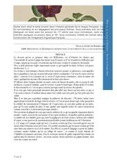 l2s3 histoire de la langue franc aise