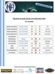 resultats matches hbcv 3 4 decembre 2016