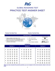 test d essai answer sheet pdf