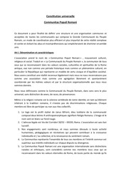 traduction statuts cpr complete