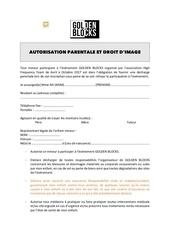 Fichier PDF autorisation parentale et droit d image