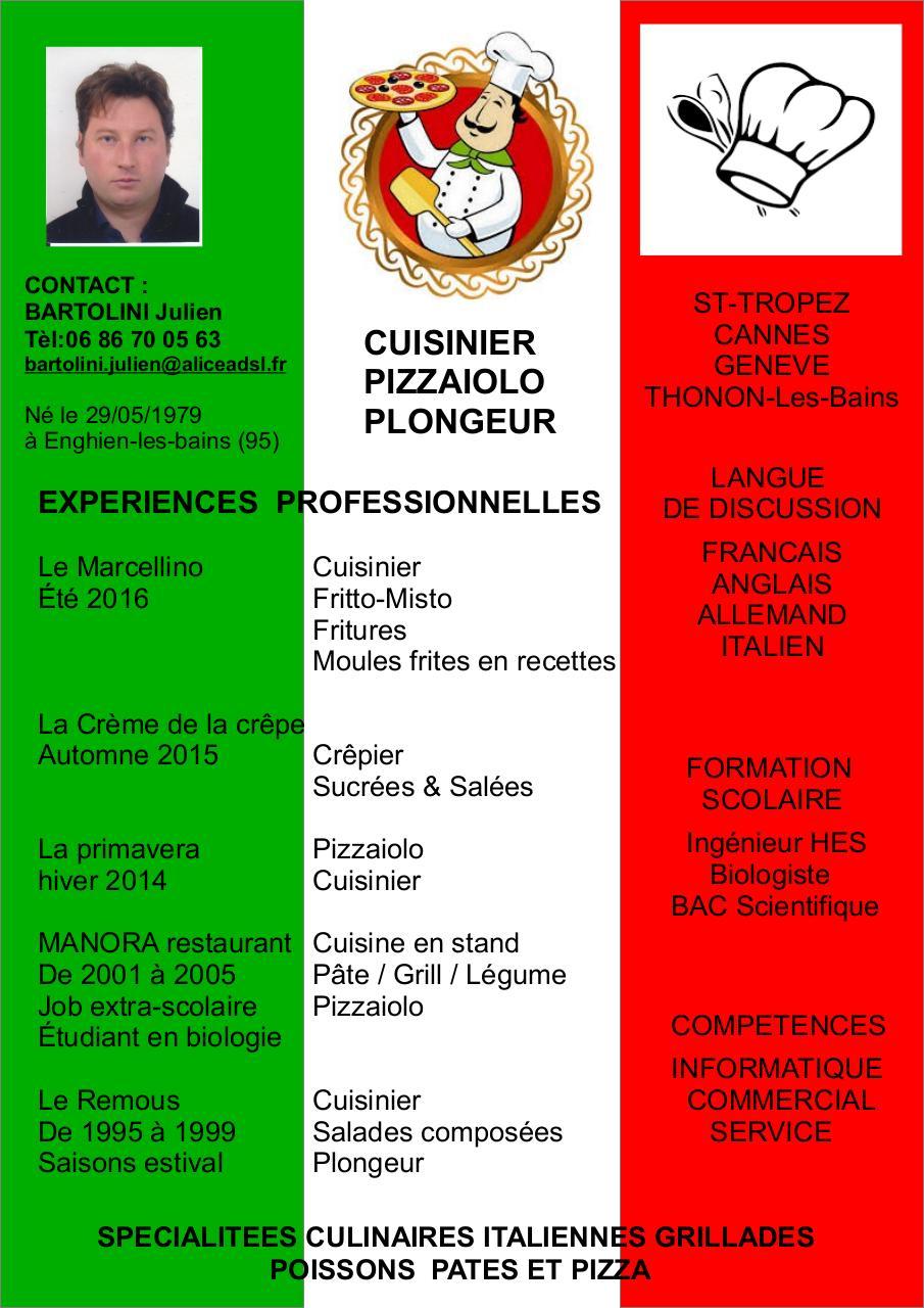 cv j bartolini 2017  cuisinier pizzaiolo pdf par julien