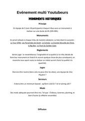 Fichier PDF monument