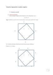 trigonometrie et nombres complexes