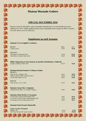 conditions speciales decembre 2016