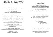 tarifs buches de noel 2016