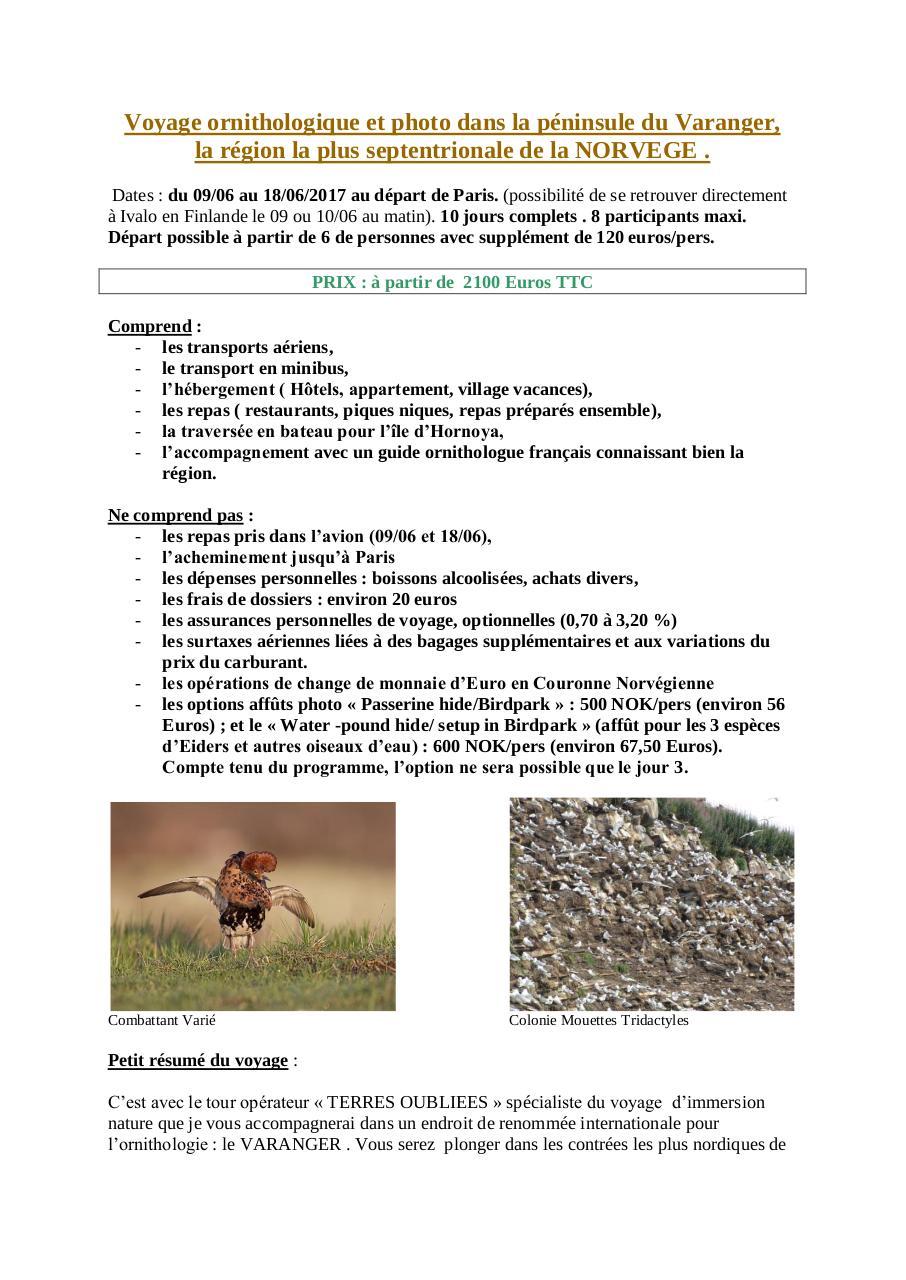 3b3b5adc4212 Voyage ornithologique dans la péninsule du Varanger.pdf - page 1 9