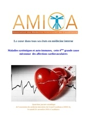 les maladies auto immunes cause des affections vasculaires