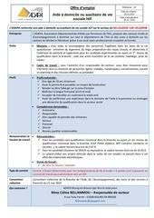 Fichier PDF offre emploi adapa bellegarde