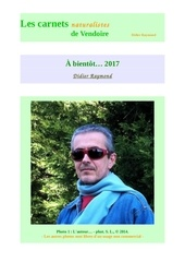carnets nat vendoire bibliographie d raymond 2016