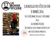 catalogue de noel 2016 la bonne epicerie marseille