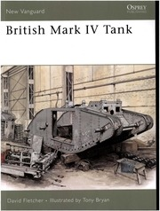 osprey new vanguard 133 british mark iv tank