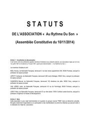 Fichier PDF statuts ards