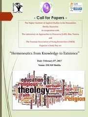 call for papers 1