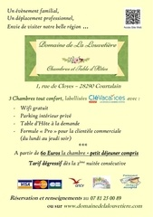 flyer chambres d hotes